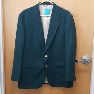 Stafford men's green suit coat